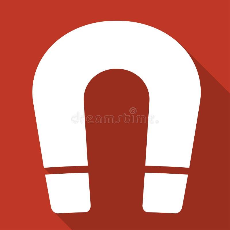 Magnet Symbol. Electromagnetism Symbol Stock Vector - Illustration ...