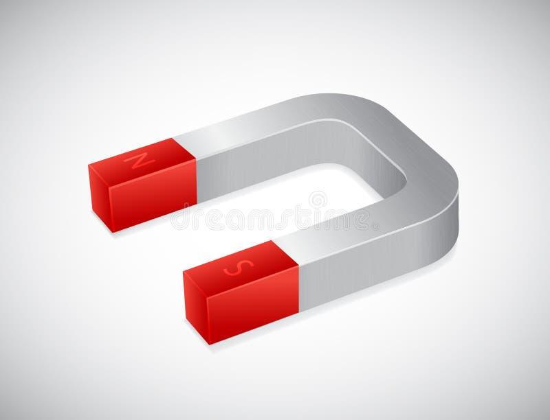 Magnete illustrazione vettoriale
