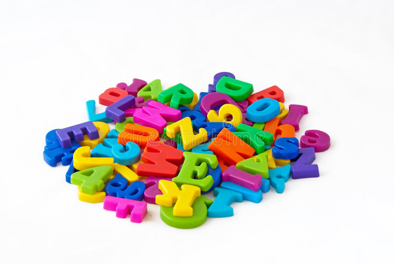 Download Magnetic Alphabet Letters Royalty Free Stock Photo - Image: 20445115