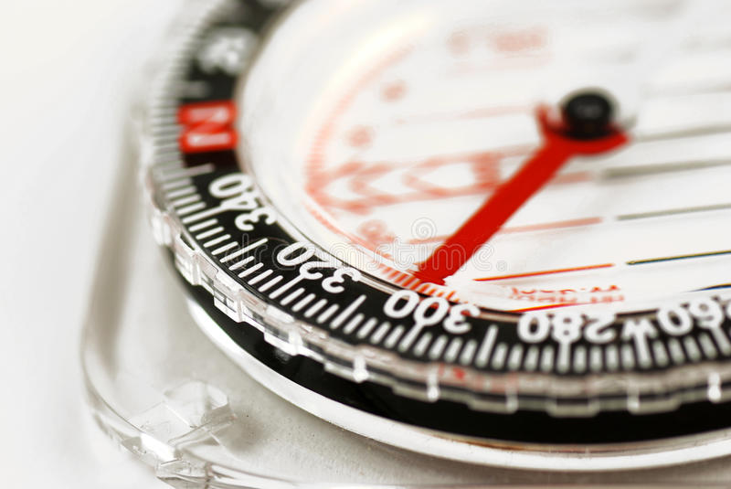 Magnetic compass. Picture of a magnetic compass royalty free stock image