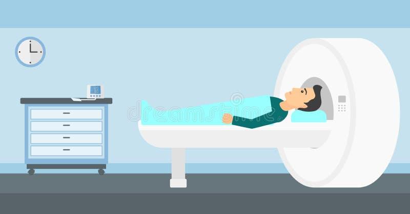 Magnetic resonance imaging vector illustratie