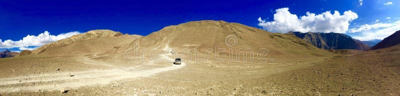 Magnetische Heuvel in Ladakh-gebied, India royalty-vrije stock afbeelding