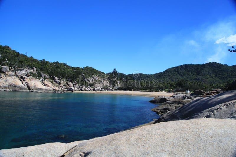 Magnetische Insel, Australien stockbild