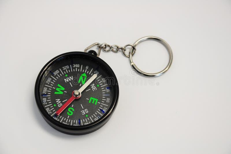magnetisk kompass royaltyfria bilder