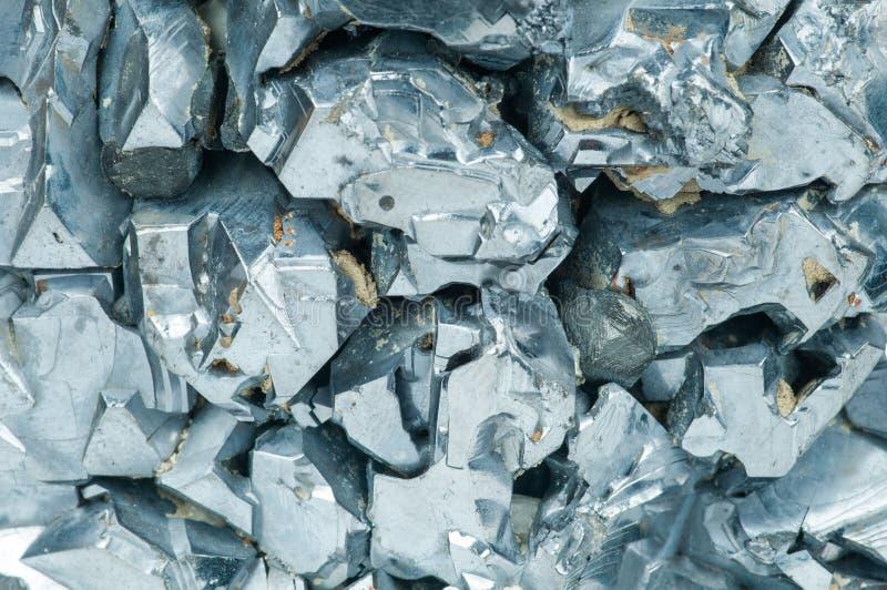 Magnetitmineralhintergrund stockfotos