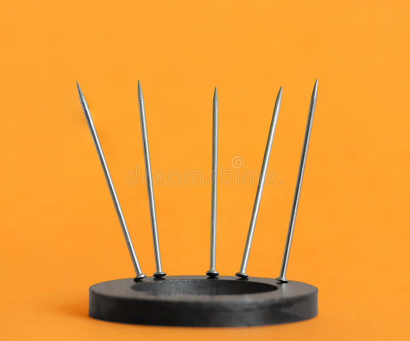 Download Magnetized Pins Stock Photos - Image: 24897383