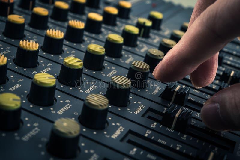 Magnetofonowy melanżer obrazy stock