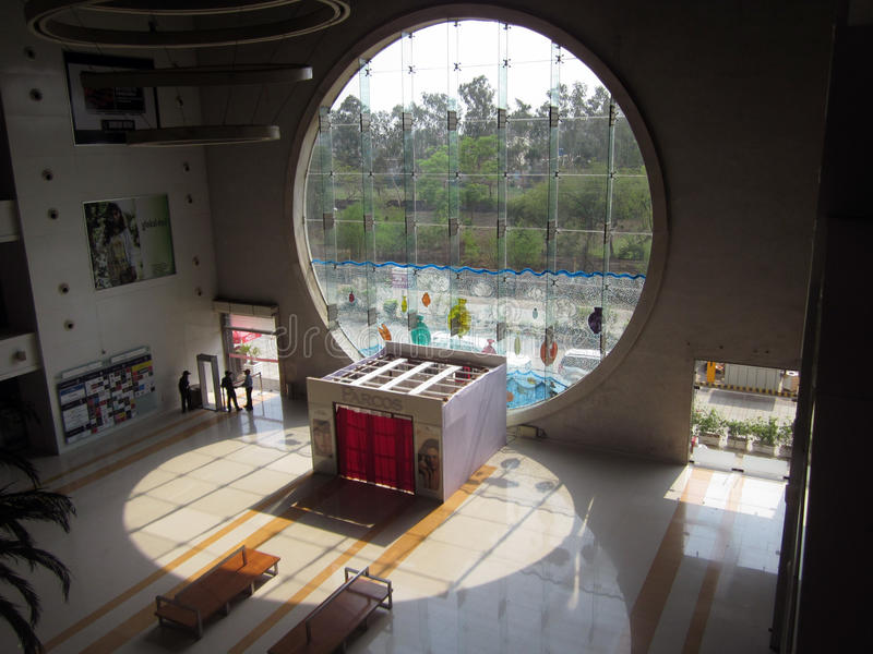Magnetto Mall (Interior) -Raipur. This image is a image of Magnetto Mall which is situated at the heart of the raipur district of chhattisgarh state of India stock images