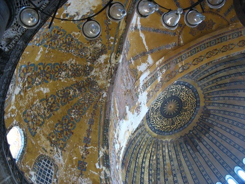 Magnificent Aya Sofya stock images