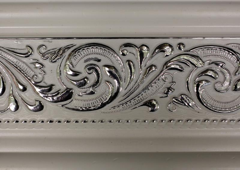 Magnificent beautiful cornices for interior decorative elements royalty free stock image