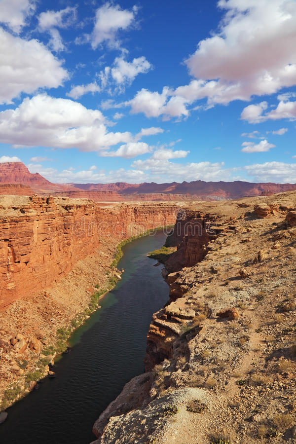 Download Magnificent Colorado River stock image. Image of cloud - 17038029