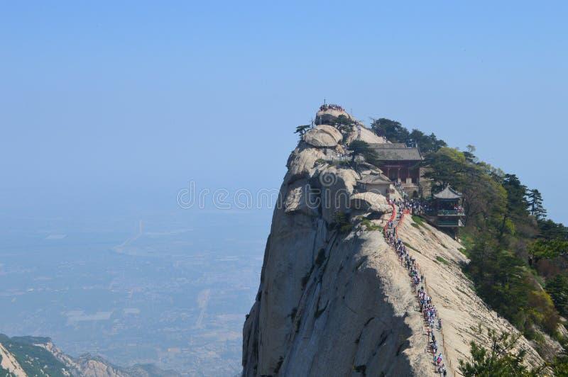 Magnificent Huashan, China royalty free stock images