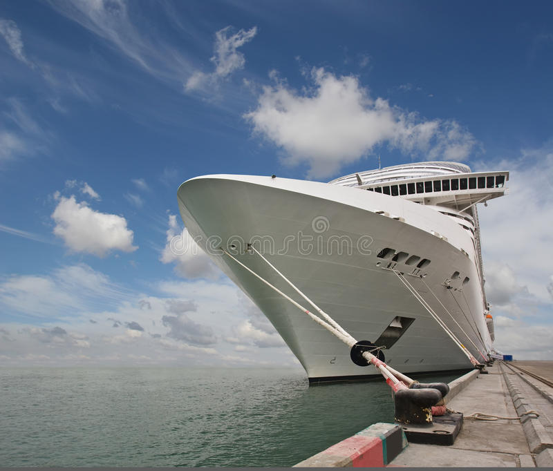 Magnificent interiors and rest on cruise the ship royalty free stock photography