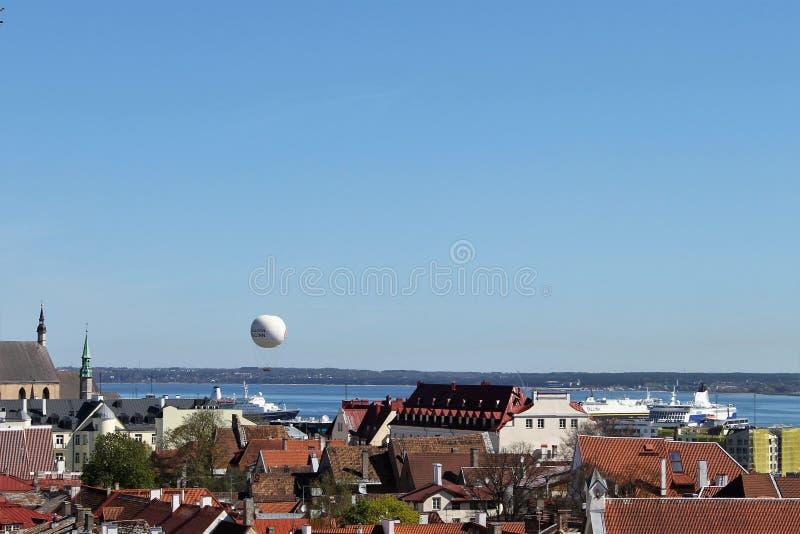 The Magnificent Tallinn. stock photos