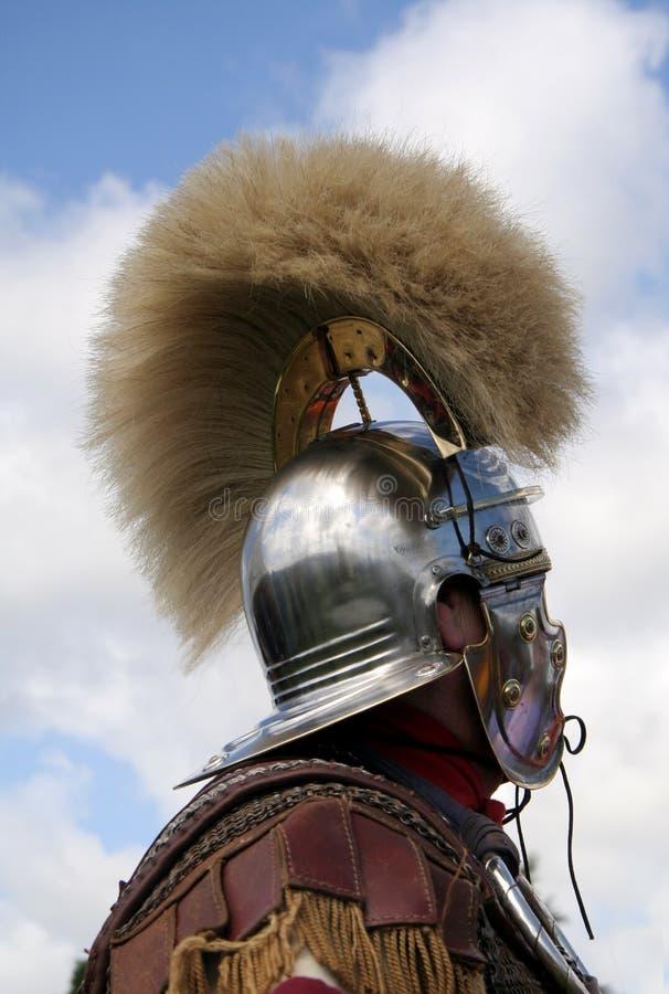Magnificient römischer Sturzhelm stockfoto