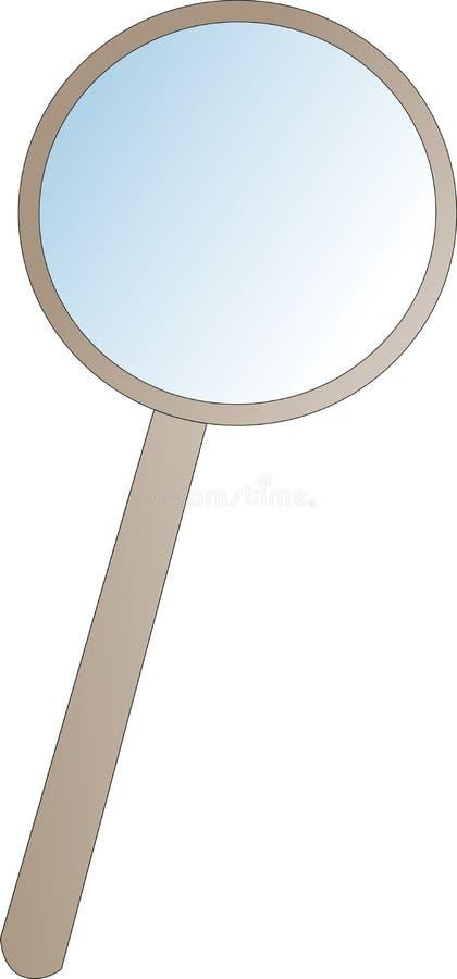 magnifier zdjęcie stock