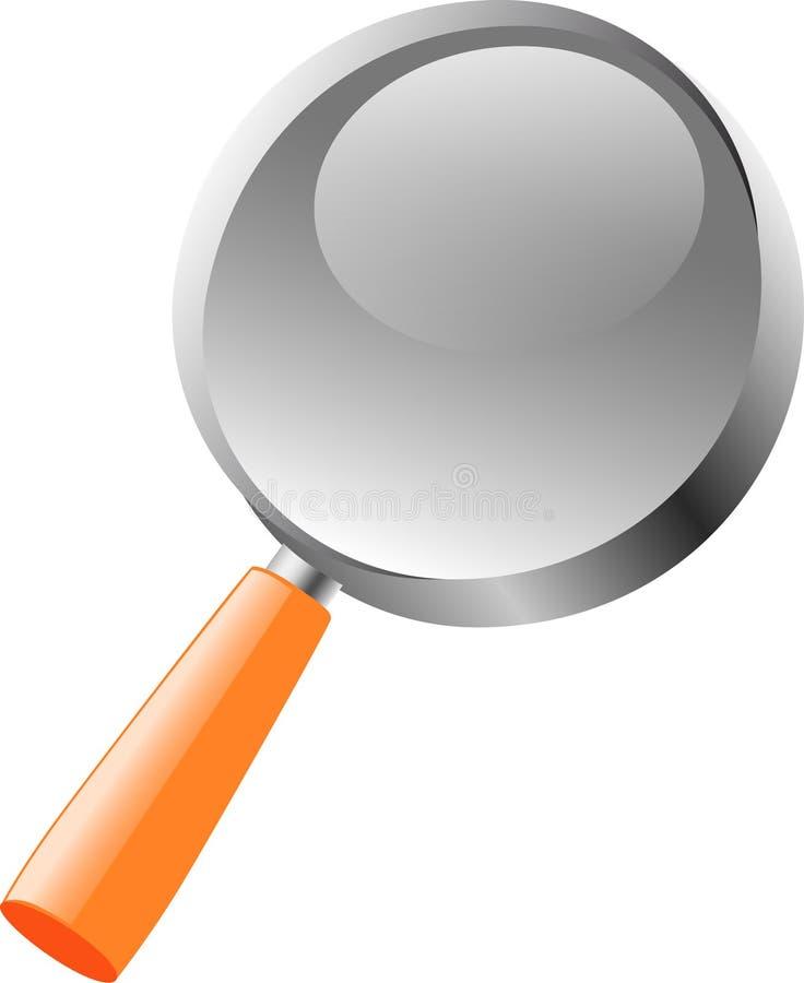 Download Magnifier vector illustratie. Illustratie bestaande uit mening - 10776569