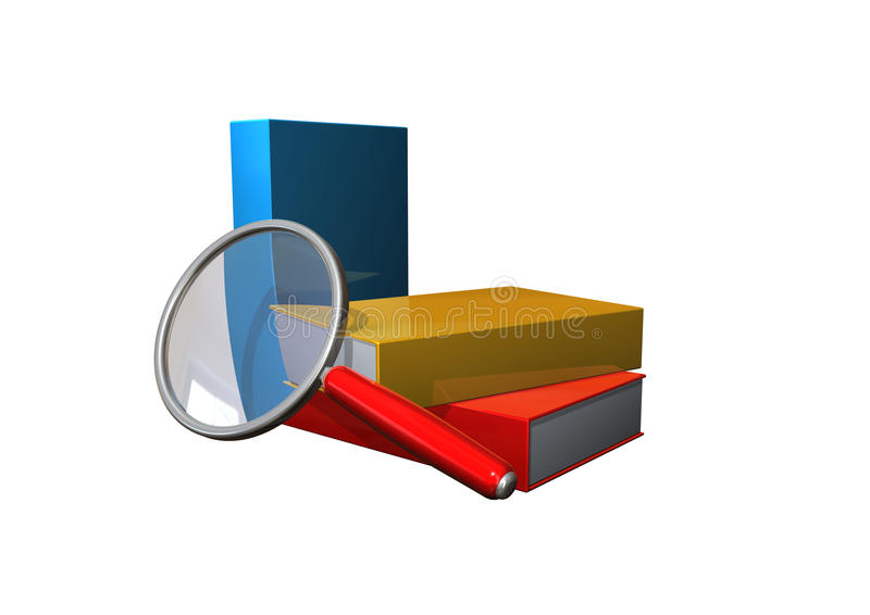 Download Magnifier stock illustration. Image of metasearch, lens - 11618253