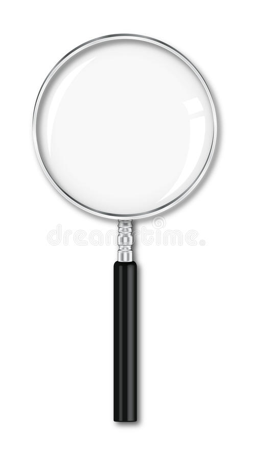 Free Magnifier Royalty Free Stock Photography - 13434107