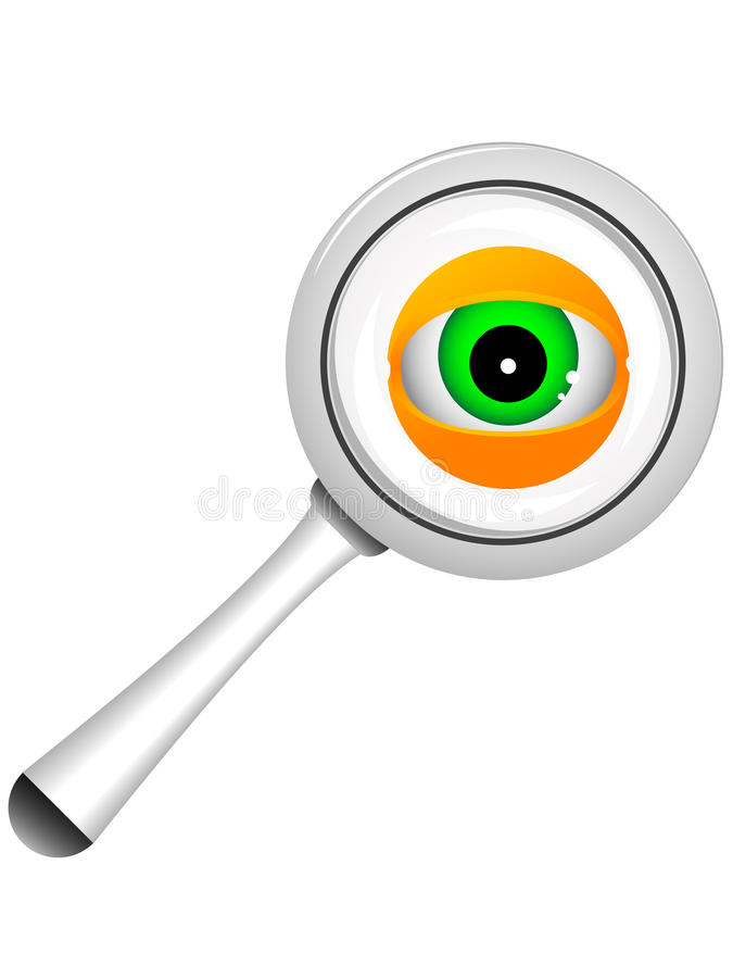Download Magnifier Royalty Free Stock Image - Image: 14364726