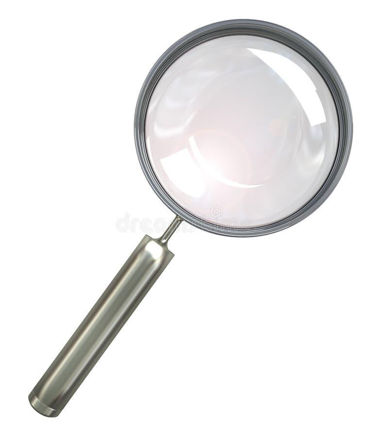 magnifier royalty ilustracja