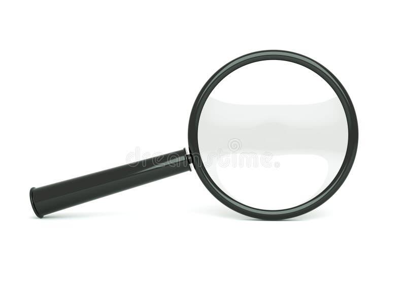 Magnifier ilustração stock