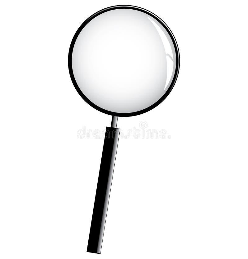 Magnifier vector illustratie