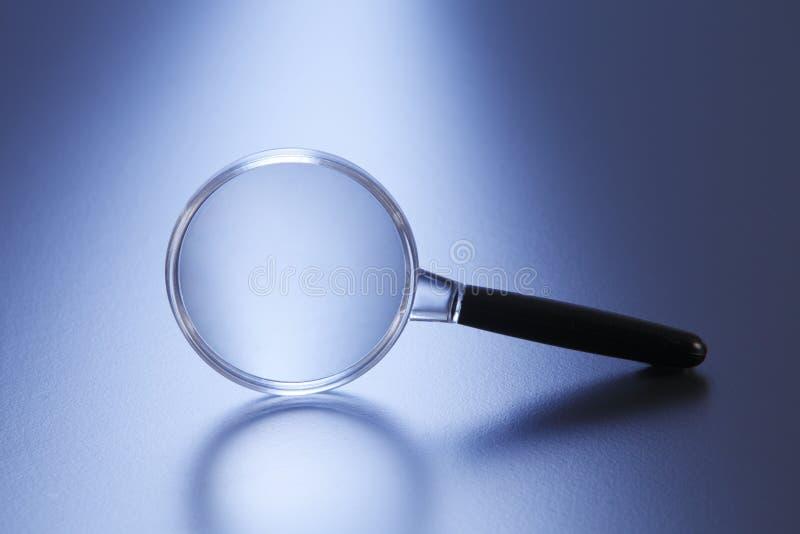 magnifier imagem de stock