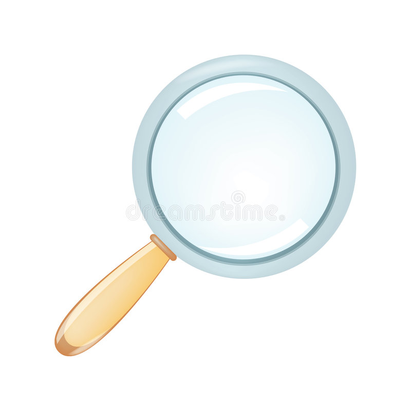 Free Magnifier Royalty Free Stock Images - 492539