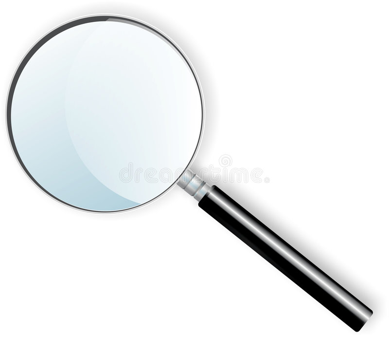 Magnifier stock illustration