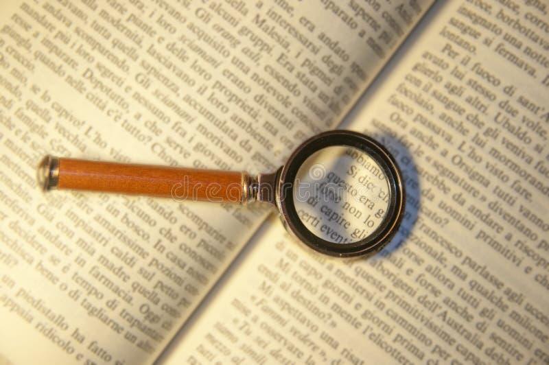 magnifier imagem de stock royalty free