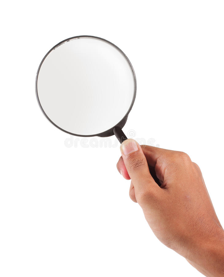 Magnifier Glass Royalty Free Stock Photography