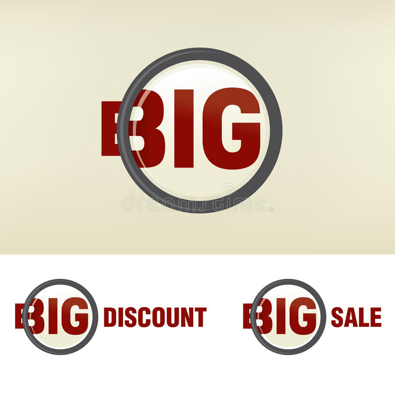 Download Zoom Big Sale Royalty Free Stock Images - Image: 26645099