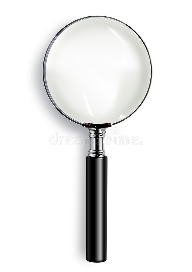 Free Magnifying Glass Royalty Free Stock Images - 10386179