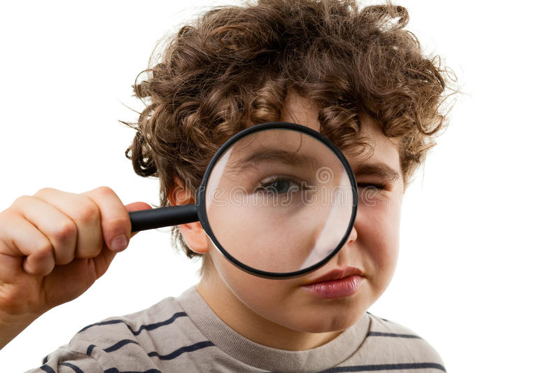 Magnifying glass stock images