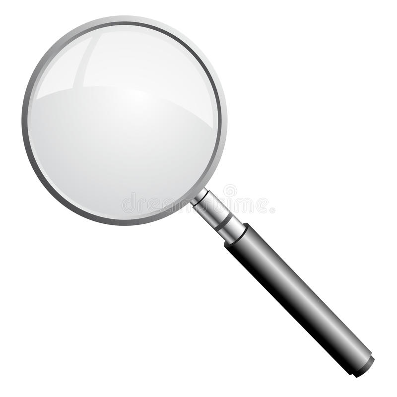 Free Magnifying Glass Royalty Free Stock Photos - 11051538