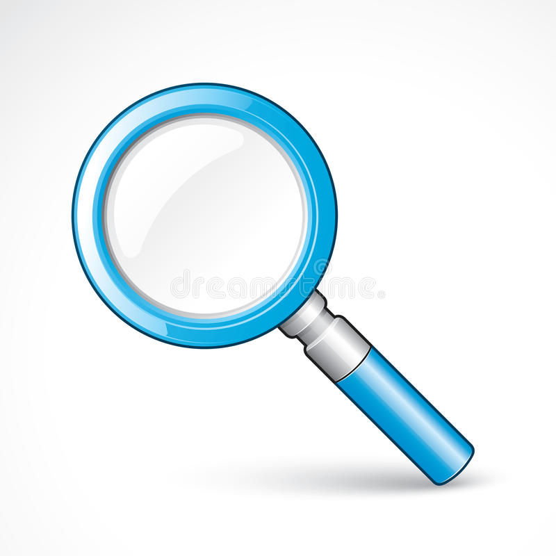 Free Magnifying Glass Royalty Free Stock Photography - 12562787