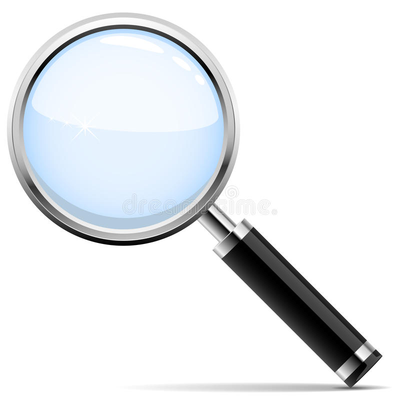 Free Magnifying Glass Stock Image - 12707621