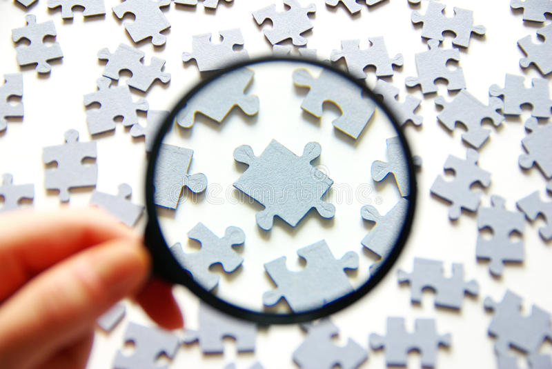 Download Magnifying glass stock photo. Image of close, magnifying - 15355514