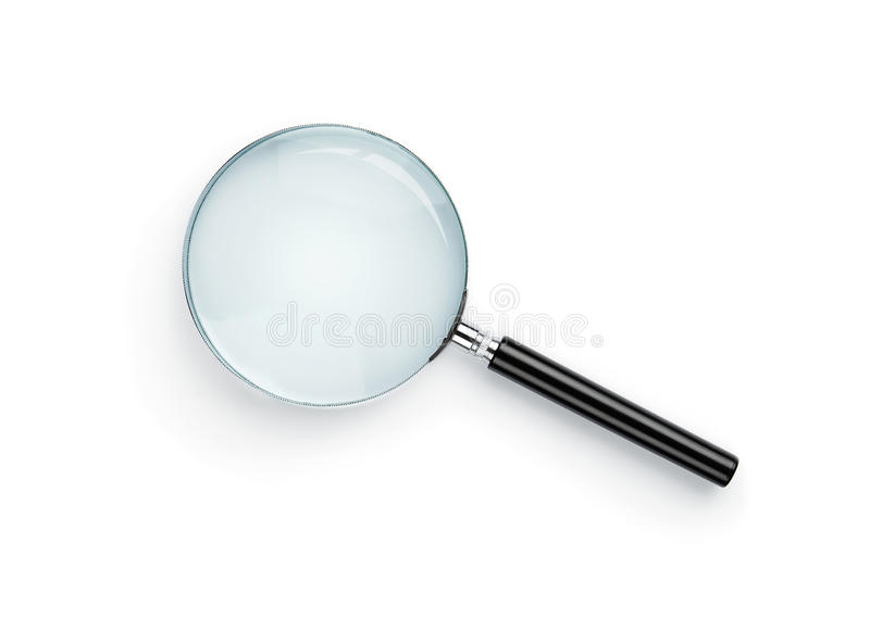 Download Magnifying glass stock image. Image of detective, investigation - 23239873