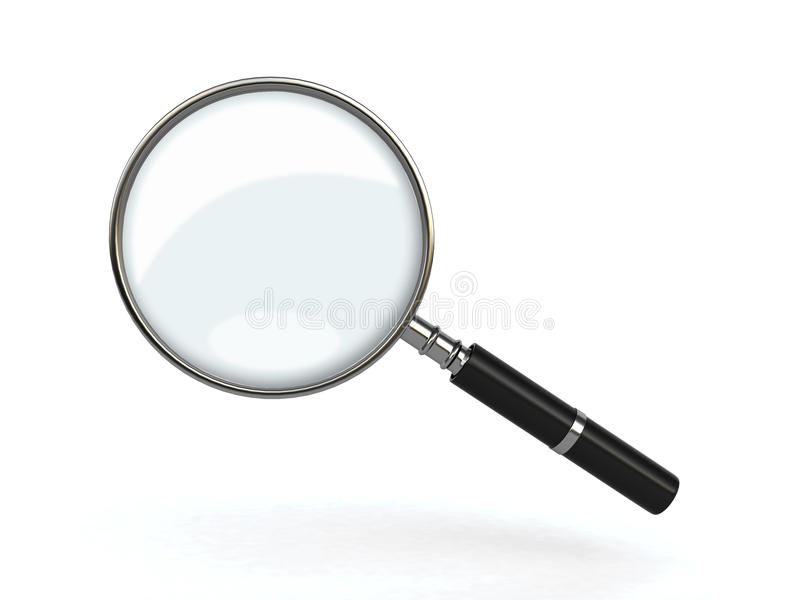 Download Magnifying Glass Royalty Free Stock Photos - Image: 25757708
