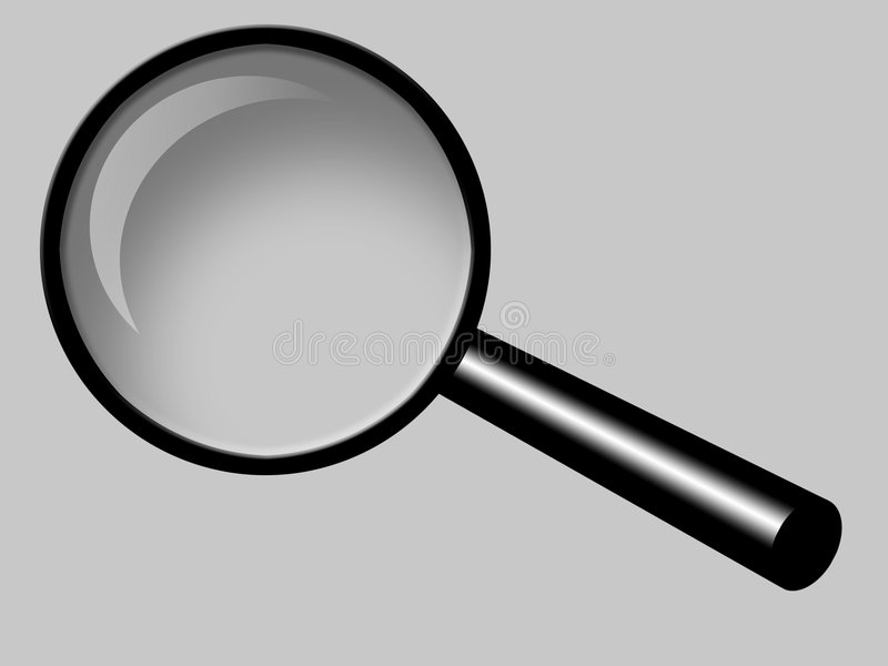 Download Magnifying Glass stock illustration. Image of digital, handle - 546862