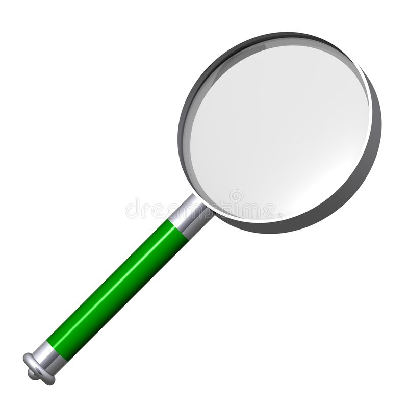 Free Magnifying Glass Stock Photography - 5828402