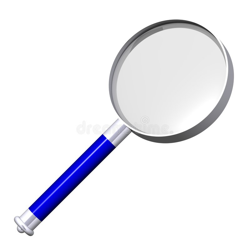 Free Magnifying Glass Royalty Free Stock Photos - 5828408