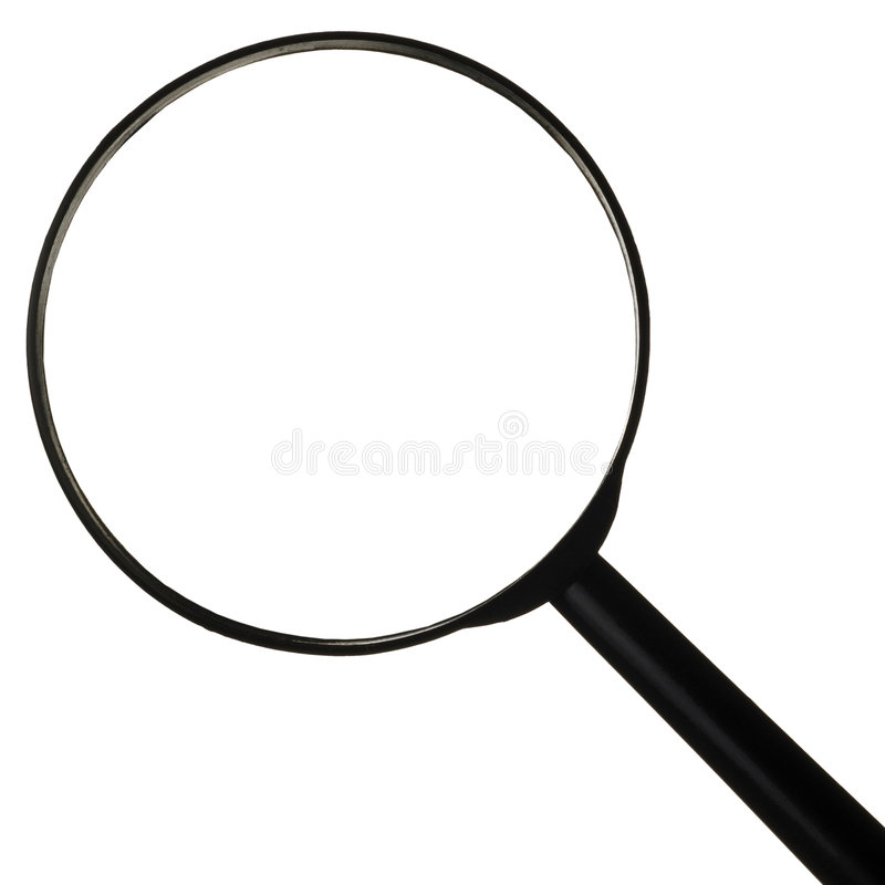 Download Magnifying glass stock photo. Image of small, symbol, shape - 899270