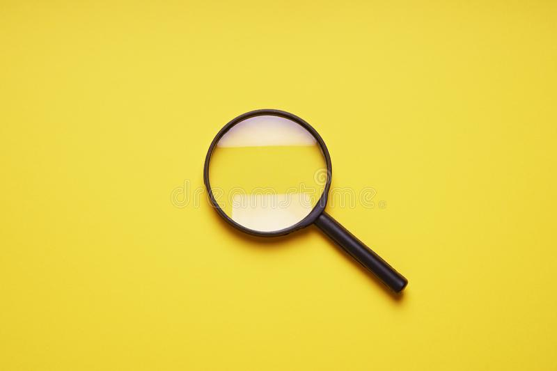 Magnifying glass magnifier loupe search symbol royalty free stock photos