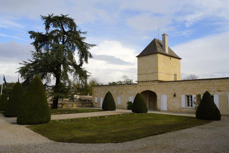 magnol Франции замка Бордо стоковое фото rf