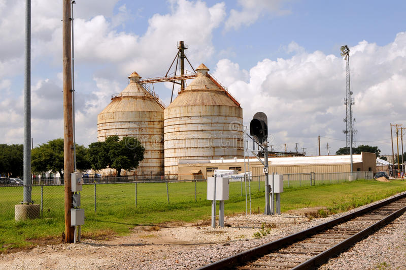 Magnolia Market Silos. Waco, Texas - July 21, 2017: Magnolia Market Silos, built by Chip and Joanna Gaines the stars of television show Fixer Upper. A favorite royalty free stock photo