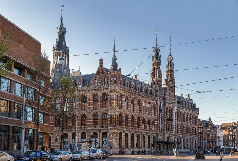 Magnum plaza, Amsterdam immagini stock
