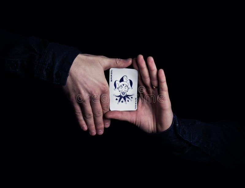 Mago Hands fotografía de archivo libre de regalías